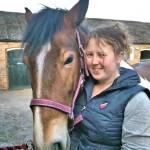 Kimberley Gilgrist & new horse