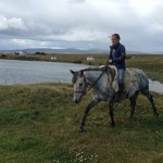 Amy Gilding in the Falklands