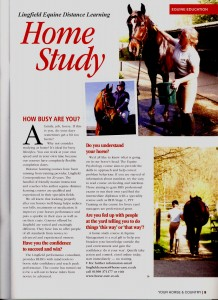 Interview Your Horse & C Mag